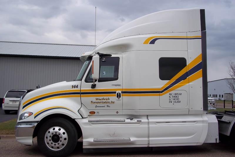 Semi Truck Graphics Stratford Sign Company
